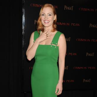 Jessica Chastain tries to inspire young women