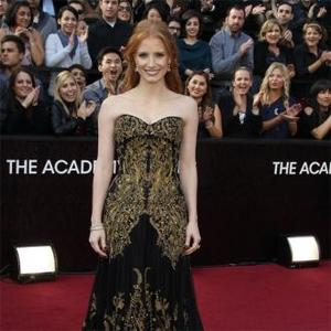Jessica Chastain Has 'Amazing' Access To Clothes