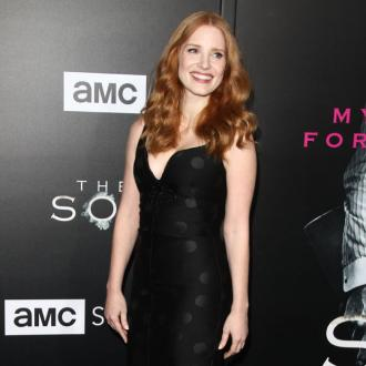 Jessica Chastain loves working with animals