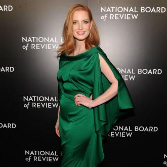 Jessica Chastain has embraced her freckles