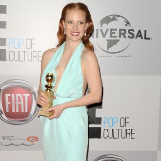 Jessica Chastain Fails To Impress With Golden Globes Dress