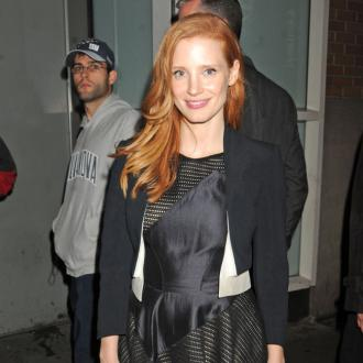 Jessica Chastain Loves Cute Dog Videos