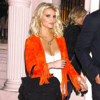 Jessica Simpson's Eased Nerves
