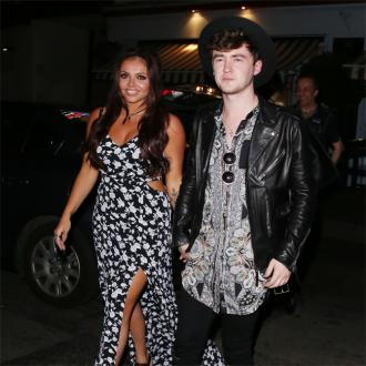 Jesy Nelson hints all is well with Jake Roche