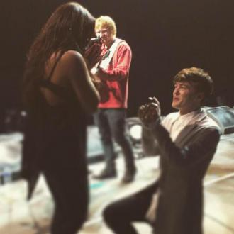 Ed Sheeran Travelled Five Hours For Jake And Jesy Proposal