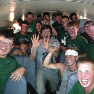 Jim Carrey Cheers Up High School Baseball Team