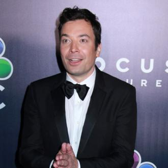 Jimmy Fallon's daughters don't realise they're on TV