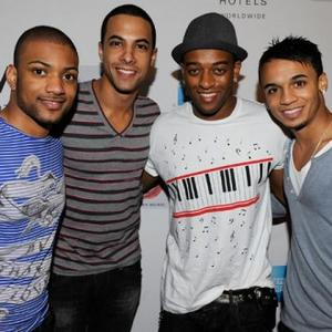 Jls Recording With Brown