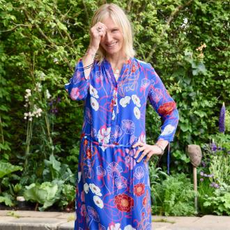 Jo Whiley caught gardening in her underwear by delivery driver