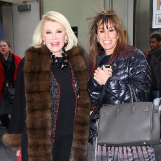 Melissa Rivers pays tribute to Joan