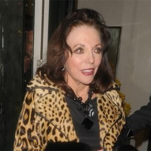 Joan Collins 'Horrified' By Eating Habits