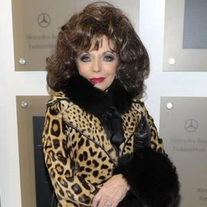 Joan Collins Keeping Bedside Vigil For Daughter