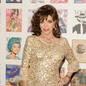 Dame Joan Collins swears by a 'good base' for disguising signs of ageing