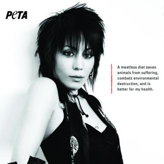 Joan Jett Unveils Peta Advert