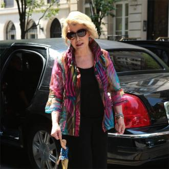 Joan Rivers Complained Of Trouble During Voice Recording