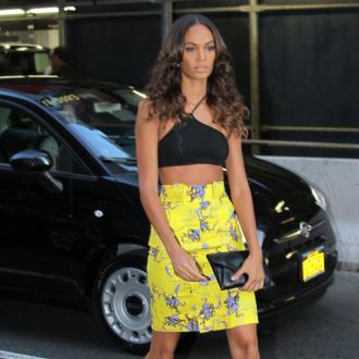 Joan Smalls: Cara Delevingne gets nervous before shows