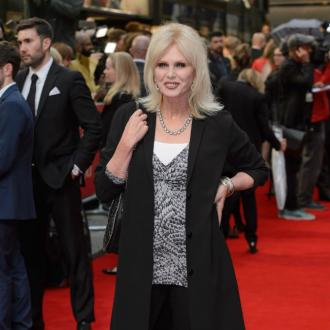 Joanna Lumley's 'headmistress' dress
