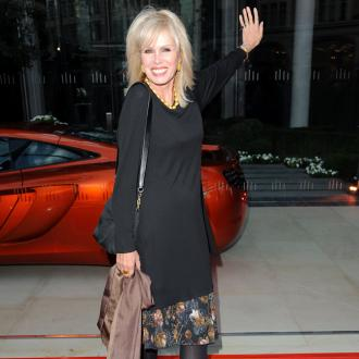 Joanna Lumley wants to come back as a giraffe