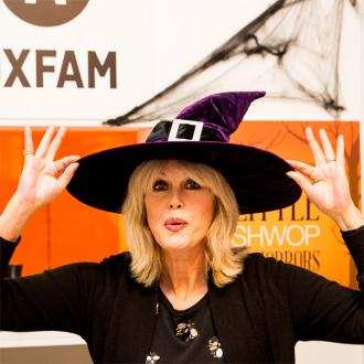 Joanna Lumley opens 'Little Shwop of Horrors'