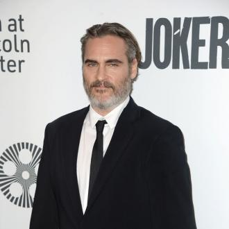 Joaquin Phoenix attends pig vigil after SAG Awards win