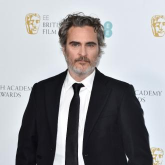 Joaquin Phoenix urges everyone to go vegan at London protest