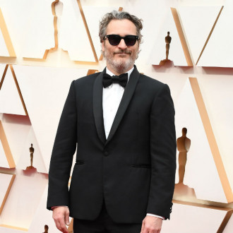 Joaquin Phoenix re-wore his Stella McCartney tux to Oscars