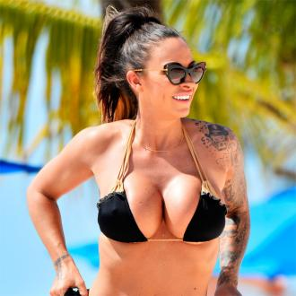 Jodie Marsh gives a lesson in staying positive