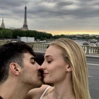 Sophie Turner and Joe Jonas kiss in Paris ahead of second wedding