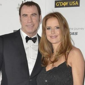 John Travolta Makes Romantic Video For Kelly