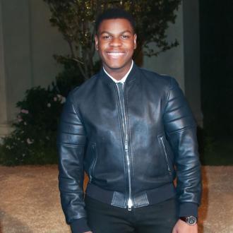 John Boyega's Stormtrooper disguise