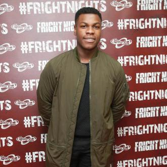 John Boyega gifted paper shredder