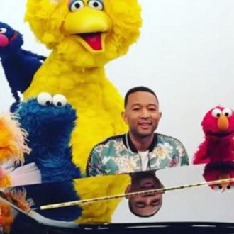 John Legend Gets Sesame Street To Give Daughter Luna Shout Out