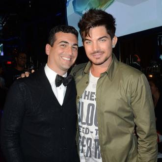 Adam Lambert among celebrities at Hooray Henry's launch