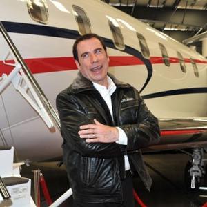 John Travolta's Car Smashed Up