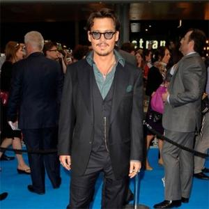 Johnny Depp Gives Hats To Sandra's Son
