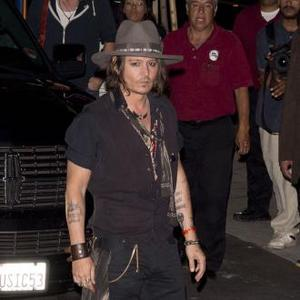 Johnny Depp Parties Till The Early Hours With Aerosmith