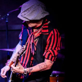 Johnny Depp entertains star-studded crowd at Ronnie Scott's Jazz Club