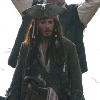 Johnny Depp Never Travels Without Jack Sparrow Costume