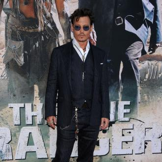 Johnny Depp Almost Trampled By Horse