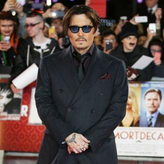 Johnny Depp 'Attacked' By Mythical Creature