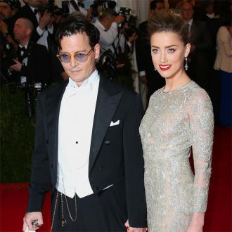Johnny Depp's mother gesture