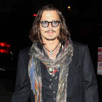 Johnny Depp's drag queen performance