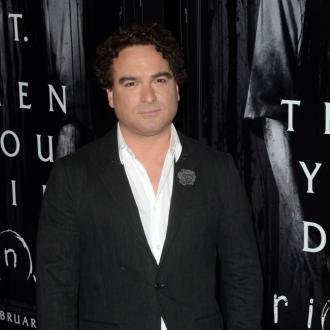 Johnny Galecki's house burns down