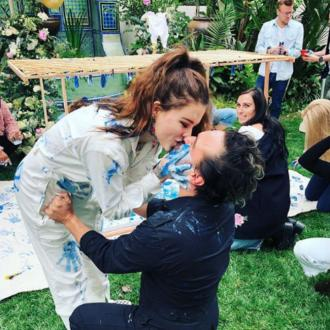 It's a baby boy on the way for Johnny Galecki