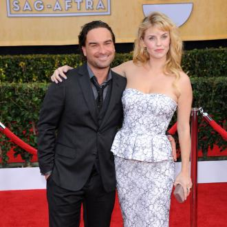 Johnny Galecki and Kelli Garner split