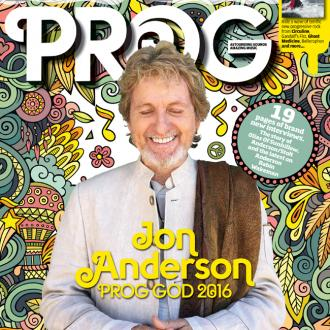 Yes' Jon Anderson Named Prog God 2016