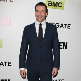 Jon Hamm flirts with Kate Beckinsale