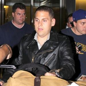 Jonah Hill Issues Challenge To Matthew Morrison