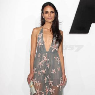 Jordana Brewster Wears Face Masks In Public