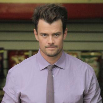 Josh Duhamel teaching son tee-ball
